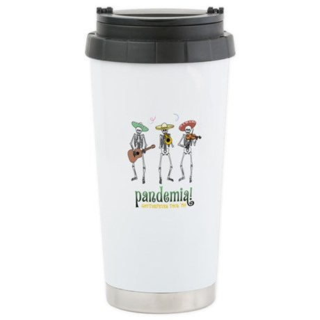 Pandemia! Ceramic Travel Mug
