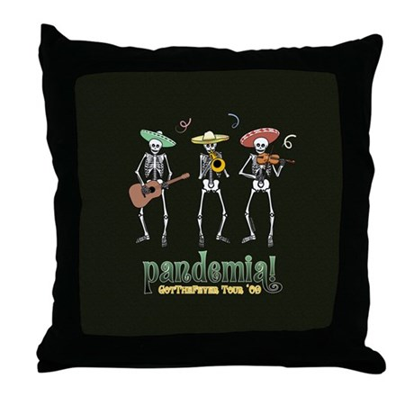 Pandemia! Throw Pillow