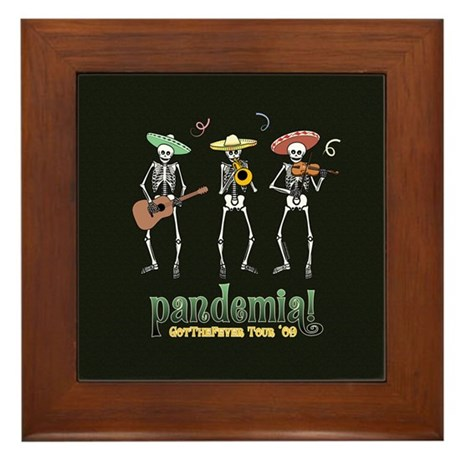 Pandemia! Framed Tile