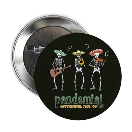 "Pandemia! 2.25"" Button (100 pack)"