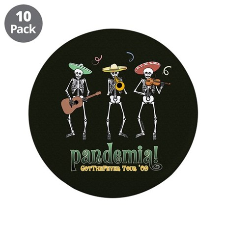 "Pandemia! 3.5"" Button (10 pack)"