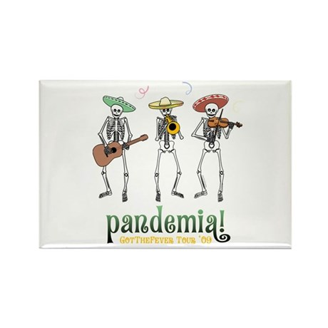 Pandemia! Rectangle Magnet