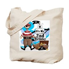 Pirate's Life 2nd Birthday Tote Bag