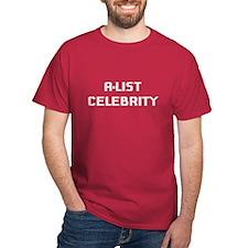 A-List Celebrity (white) T-Shirt