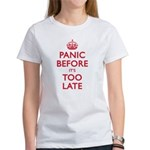 Panic Soon Women's T-Shirt