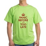 Panic Soon Green T-Shirt