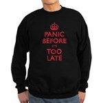 Panic Soon Sweatshirt (dark)