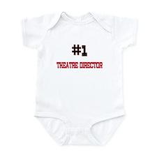 Number 1 THEATRE DIRECTOR Infant Bodysuit