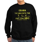 Obama--the man with the TLC Sweatshirt (dark)