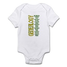 Genealogy List Infant Bodysuit