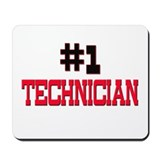 Number 1 TECHNOLOGIST Mousepad