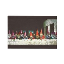 """Gnome"" Last Supper Rectangle Magnet"