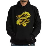 Awesome Gold Dragon Hoodie