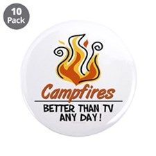 "Camping 3.5"" Button (10 pack)"