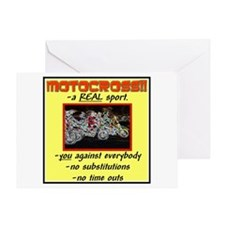 """""""MX-a Real Sport!"""" Greeting Card"""