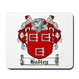 Hadley Coat of Arms Mousepad