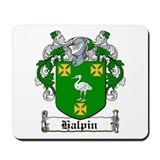 Halpin Coat of Arms Mousepad
