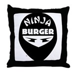 Ninja Throwing Pillow