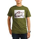 Nesting Pigeons Organic Men's T-Shirt (dark)