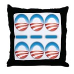 SOS Throw Pillow