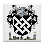 Harrington Coat of Arms Tile Coaster