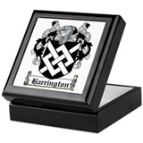 Harrington Coat of Arms Keepsake Box