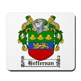 Heffernan Coat of Arms Mousepad