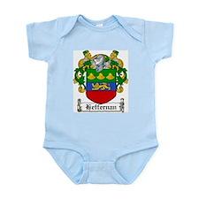Heffernan Coat of Arms Infant Creeper