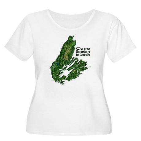 Cape Breton Women's Plus Size Scoop Neck T-Shirt
