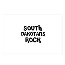 SOUTH DAKOTANS ROCK Postcards (Package of 8)