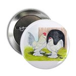 Porcelain d'Uccle Rooster and Button