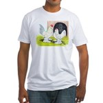 Porcelain d'Uccle Rooster and Fitted T-Shirt