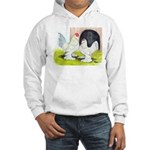 Porcelain d'Uccle Rooster and Hooded Sweatshirt