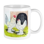 Porcelain d'Uccle Rooster and Mug