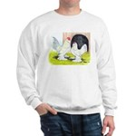 Porcelain d'Uccle Rooster and Sweatshirt