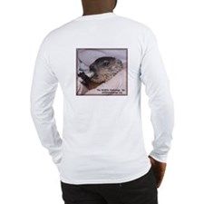 Long Sleeve T-Shirt with woodchuck on back