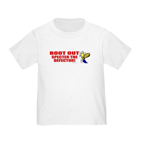 Boot Specter The Defector Toddler T-Shirt