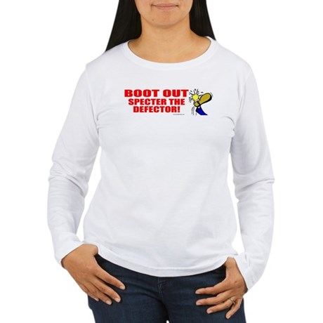 Boot Specter The Defector Women's Long Sleeve T-Sh