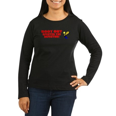 Boot Specter The Defector Women's Long Sleeve Dark