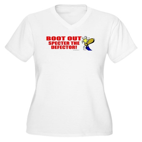 Boot Specter The Defector Women's Plus Size V-Neck