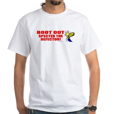 Boot Specter The Defector White T-Shirt