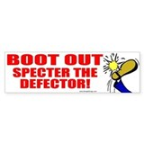 Boot Specter The Defector Bumper Bumper Sticker