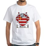 Hussey Coat of Arms White T-Shirt
