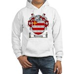 Hussey Coat of Arms Hooded Sweatshirt