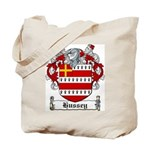 Hussey Coat of Arms Tote Bag