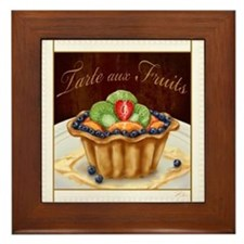 Tarte aux Fruits Framed Tile
