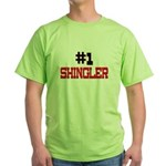 Number 1 SHINGLER Green T-Shirt