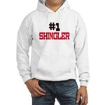 Number 1 SHINGLER Hooded Sweatshirt
