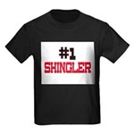 Number 1 SHINGLER Kids Dark T-Shirt
