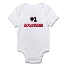 Number 1 SEAMSTRESS Infant Bodysuit